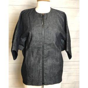 Marni Denim shorts blouse shorts sleeves